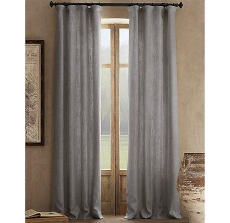 these linen curtains from restoration hardware