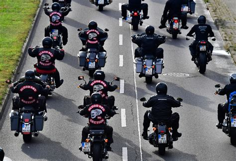 German Police Stage Mass Raids On Biker Gangs Amid Drugs
