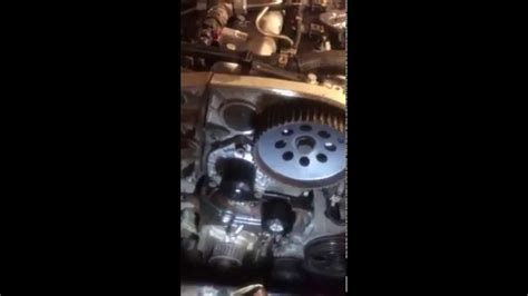 Vauxhall Timing Belt vauxhall insignia 2011 timing belt change