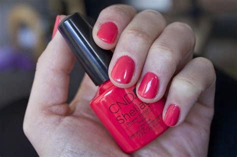 cnd shellac tropix manicure tutorial my life my passion