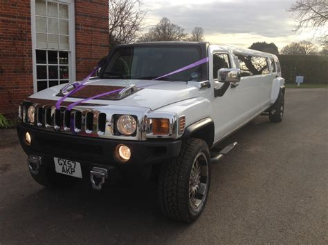 hummer limousine with hummer h3 limo hire from herts limos