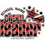 Cheerleader Megaphone Clipart Clip Chevron Sparren Disegno