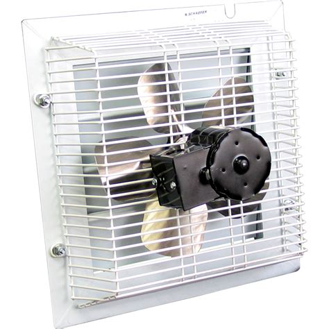 exhaust fan with shutter schaefer shutter style exhaust fan 12in model sft
