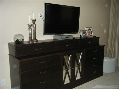 dresser with tv mount bedroom television decorating ideas and solutions