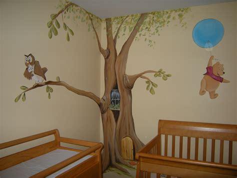 Winnie The Pooh Baby Nursery Mural