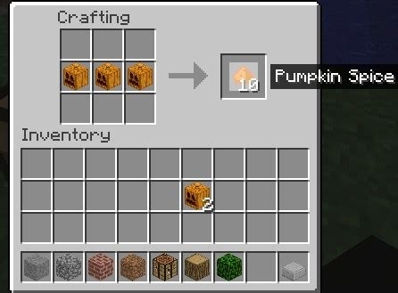 Pumpkin pie has no known uses in crafting. NOM NOM Pumpkin Mod 1.8.1! Minecraft Mod