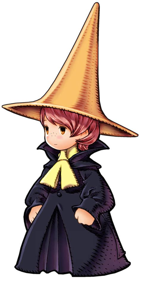 arc black mage characters art final fantasy iii ds