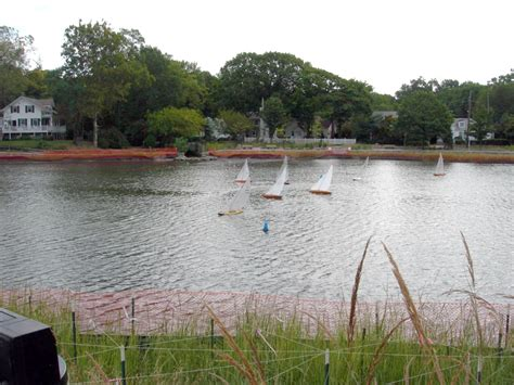 Model Boats Sailing by Model Boat Sailing On Mill Pond Port Washington News