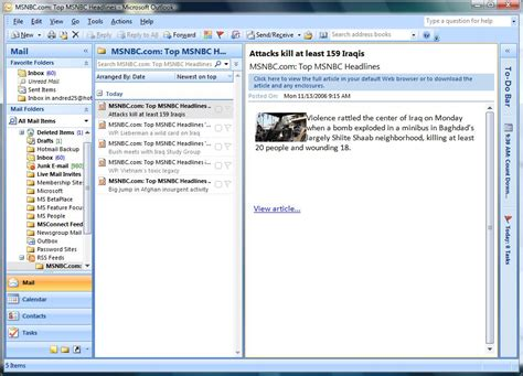 Microsoft Office Outlook by Activewin Microsoft Office 2007 Review