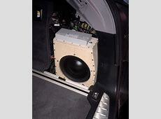 Subwoofer BMW F11 Seitenteil 5er, bmw, carpower, f11
