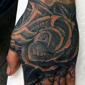 80 Money Rose Tattoo Designs For Men - Cool Currency Ink