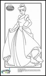 Coloring Princess Disney Pages Cinderella Printable Princesses Sheets Colors Teamcolors Printables Print Mulan Ministerofbeans Books Getcoloringpages Frozen Character sketch template