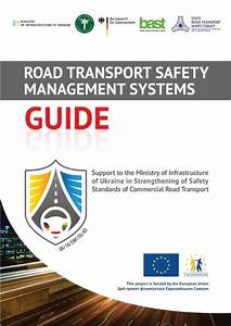 Guide  U0026quot Road Transport Safety Management Systems U0026quot