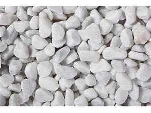 Galet Marbre Blanc : galet marbre blanc roul carrare 7 15 25kg gravier galet sable d coratif rev tement sol ~ Nature-et-papiers.com Idées de Décoration