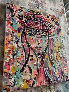 The, Queen, 7, Neon, Pop, Art, Canvas, Painting, Art, Home