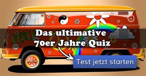 ᐅ Das Ultimative 70er Jahre Quiz