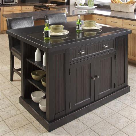 kitchen islands black home styles nantucket kitchen island black kitchen