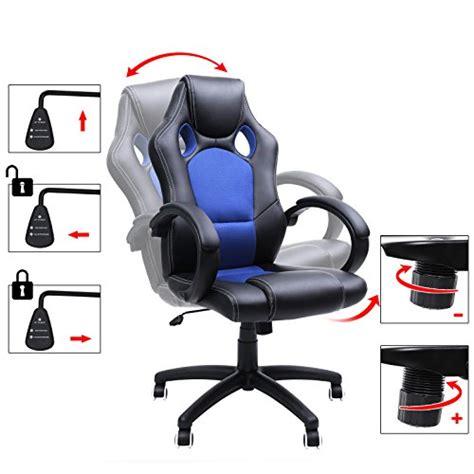 fauteuil de bureau grande taille fauteuil ergonomique pour ordinateur gains de productivit