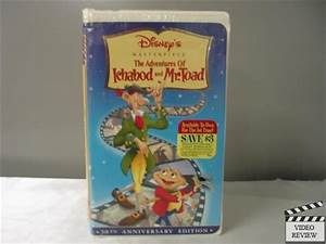 The Adventures of Ichabod and Mr. Toad 50th Anniv. Ed. VHS ...