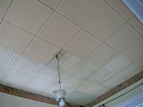 wall sconce with demo asbestos ceiling tiles robinson decor how to