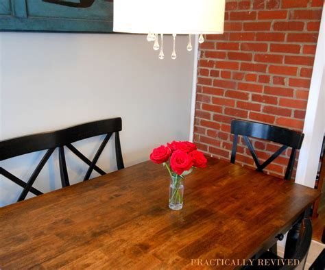 Hometalk   Before and After: Painted Dining Table Top to