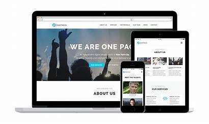 Onepress Theme Wordpress Landing Ecommerce Themes Famethemes