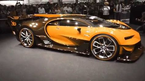 Lmoy 1:32 scale bugatti chiron vision grand turismo (gt) zinc alloy pull back diecast toy car model collection with light & sound (blue) 4.3 out of 5 stars 69 $22.99 -2015 Bugatti ''Vision Gran Turismo'' 8.0 W16 1500 Hp 463 Km/h 287 mph * Playlist - YouTube