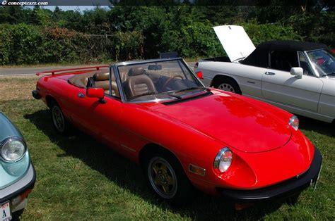 1982 Alfa Romeo Spider Photos, Informations, Articles