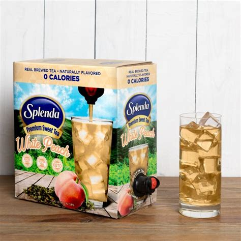 It keeps you hydrated and there are several good diabetic carrot cake recipies. Splenda White Peach Premium Sweet Green Tea | Delicious, Sweet, and Zero Calories!