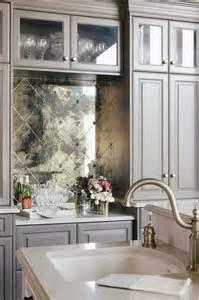 kitchen backsplash mirror gray wire brushed oak bar cabinets with mirrored tile backsplash contemporary living room