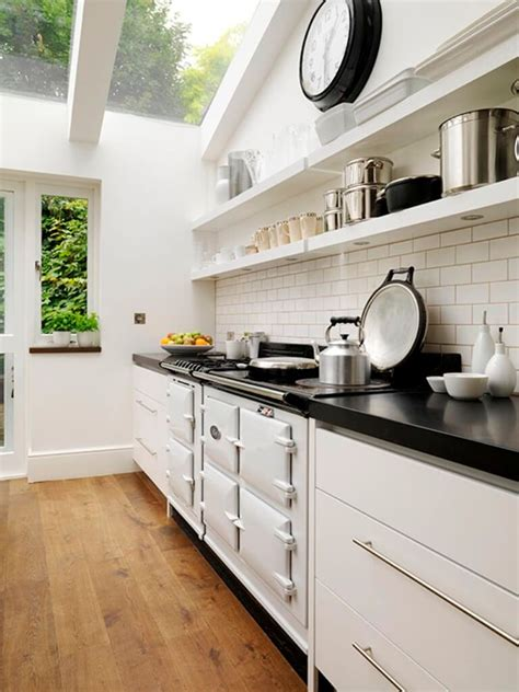 floating shelves   functional kitchen designs https