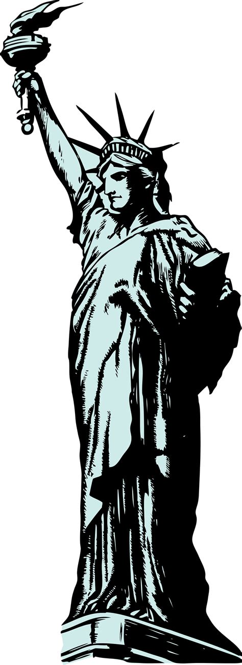 Statue Of Liberty Clipart Statue Of Liberty Free Stock Photo Illustration Of The