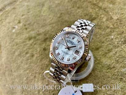 Rolex Lady 28mm Datejust Diamond Dial Watches