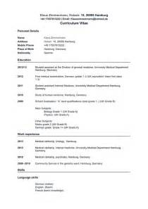 curriculum vitae for applying application s application