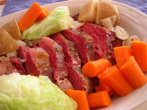 crock pot corned beef and cabbage recipe food