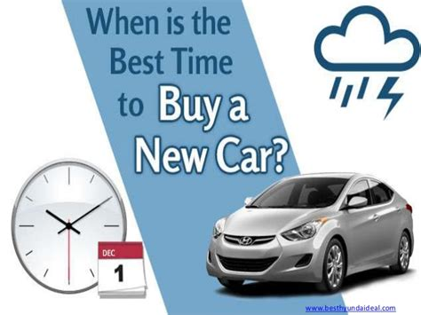 best time to buy best time to buy a car