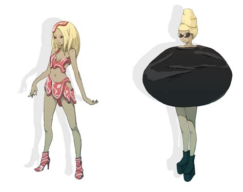 Gravity Rush Concept Art