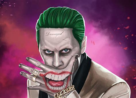 Joker Suicide Squad Artwork Hd, Hd Movies, 4k Wallpapers