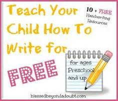 handwriting images handwriting preschool