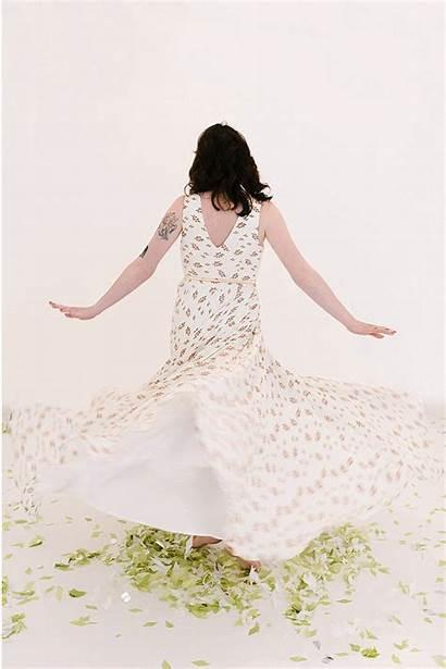 Dresses Under Twirling Flower Plus Spinning Modcloth