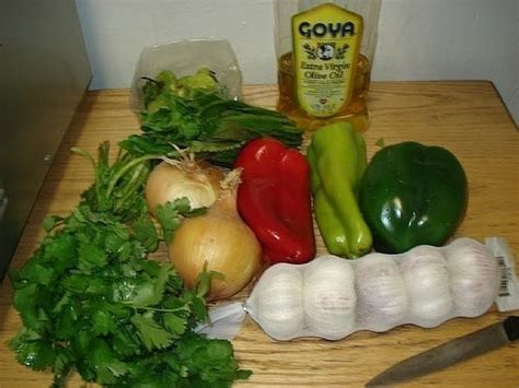 how to make sofrito puerto rican style sofrito recipe 183 how to make sofrito sauce 183 cooking on cut out keep