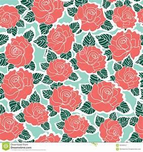 Seamless Rose Pattern | www.imgkid.com - The Image Kid Has It!
