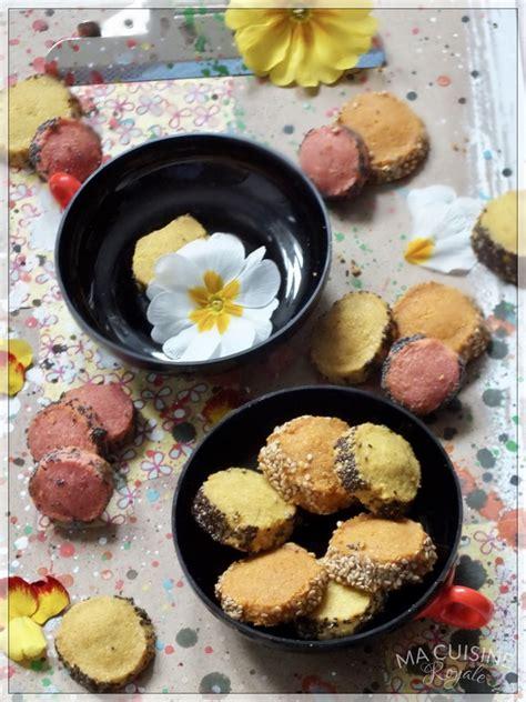 salicorne cuisine sablé au parmesan et curry ma cuisine royale