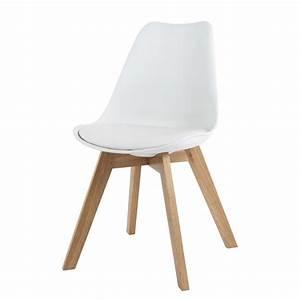 Ikea Stuhl Durchsichtig : skandinavischer stuhl wei ice maisons du monde ~ Buech-reservation.com Haus und Dekorationen