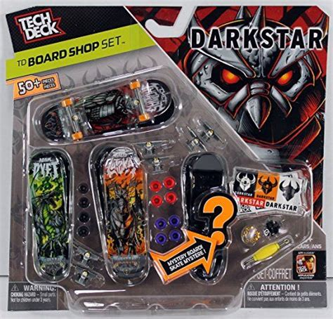 tech deck board shop set darkstar s finger boards