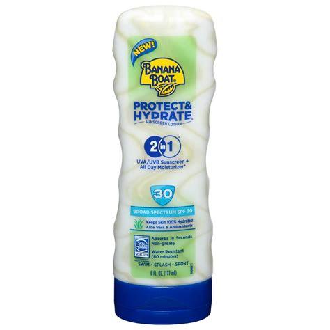 Banana Boat Sunscreen Rash by Banana Boat Protect And Hydrate Sunscreen Lotion