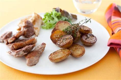 recette de plancha de viandes pommes grenaille facile et rapide