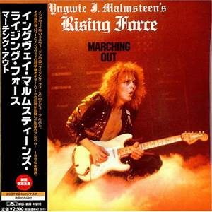 Yngwie J. Malmsteen's Rising Force - Marching Out (CD ...