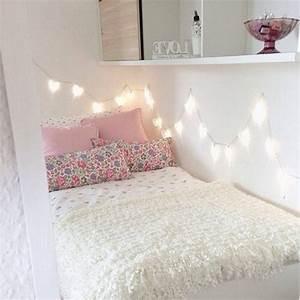 Tumblr Zimmer Lichterketten : girly bedroom on tumblr ~ Eleganceandgraceweddings.com Haus und Dekorationen