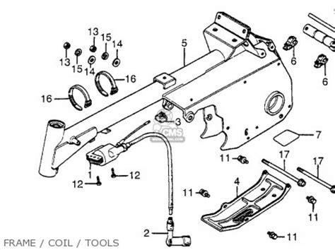 honda atc70 1983 d usa parts list partsmanual partsfiche